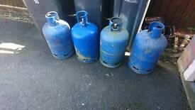 Calor gas bottles - blue