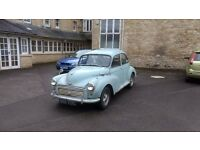 Morris Minor Saloon (1962) 12 Months MOT and 102,878 genuine miles!