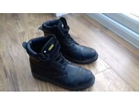 Apache Steel toe cap leather boots