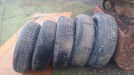 bought by mistake discovery mk1 wheels and tyres also fit others