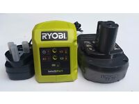 Ryobi Battery and Charger