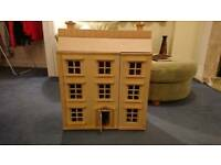 Beautiful wooden dolls' house