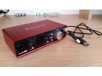 Focusrite Scarlett 2i2 (2nd Gen) Audio Interface