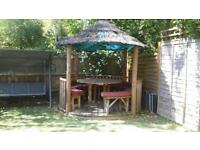 Savannah Breeze House Wooden Gazebo RRP - £10,000