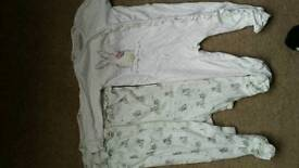 Sleep suits 6-9 months