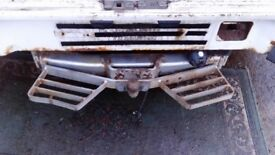 Ldv convoy tow bar and step.......................... . . ...............................