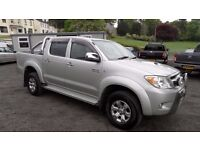 2009 Toyota Hilux Invincible 3.0 D4D, Full Leather, Full Service history, MOT Jan 18