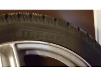 I HAVE TO SELL WINTER TYRES +ALLOY PIRELLI SIZE 195/45 R16 PRICE £260. USED FOR 3 MONTHS ONLY