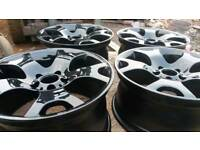 "New 19"" gloss black bmw x5 alloys"