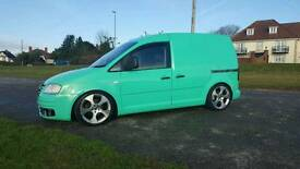 2007 VW CADDY VAN REMAPPED