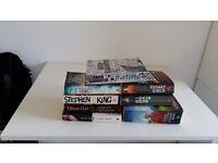 Bundle of thriller's books
