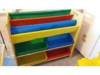 Children's Toy and Book Storage