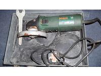 230 volt BOSCH angle grinder