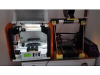 3d printers and laser engraver