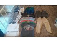 Boys clothing bundle 12-18 19-24 2-3