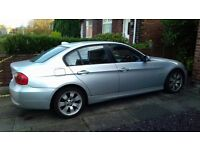Silver BMW. Excellent condition. Full Spec. Leather interior. Long MOT August 2017. No damage.