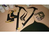 RARE GRIVEL LIGHT WING ICE AXES WITH EXTRA PICS & LEASHES MOUNTAIN EQUIPMENT HARDWEAR RAB ALPKIT