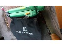 Garden vac and leaf blower excellent condition and working order