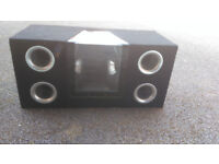 Double Boxed Mutant Sub woofers