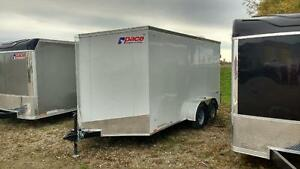 2017 Pace 7x14 Outback Tandem Axle Cargo Trailer - Barn Doors London Ontario image 2