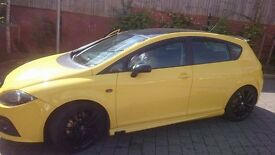 seat leon 2l tdi with full FR system