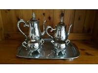 TEA COFFEE SET EP BRASS