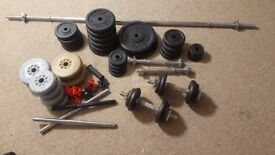 Cast Iron Weights for weightliftng and fitness work