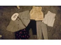 Baby girl clothes bundle age 12-18 months £10
