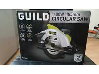 Guild 1400w 185mm circular saw