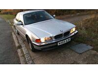 BMW 730 LPG (95 N) AUTO, SILVER, 12 MONTHS MOT