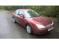 Low Mileage Ford Mondeo 1.8LX, 41mpg, Very Clean Car, Absolute Pleasure to Drive