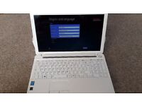 Toshiba (Satellite C55-A-1RD ) White Laptop