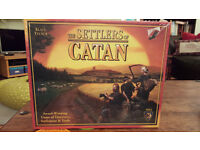 """The Settlers of Catan board game: sealed, brand new. Edition 4. Age 10+, 3-4 players """"Game of Year"""""""