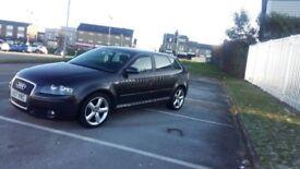 2007 audi a3 2.0tdi black diesel 5dr not golf leon