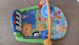 Fisher price piano gym, excellent condition, hardly ever used