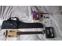 As new. Travel Guitar and Apogee Jam