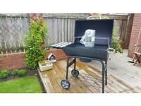 BBQ and starter chimney