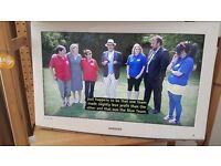 SAMSUNG FLAT TV 32' WHITE