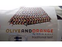 A FRAME TENT NEW UNWANTED GIFT CHEAP AT 50 ono