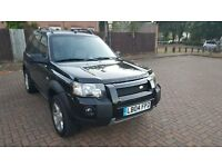LEFT HAND DRIVE AUTOMATIC FREELANDER TD4 IN LONDON