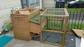 Chicken coup and run / hutch