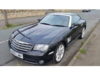 Black Chrysler Crossfire Sports Car 3.2 V6 engine 84000 £2700 o.v.n.o