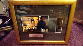FRAMED THE ITALIAN JOB LIMITED EDITION MOVIE FILM CELL PRESENTATION