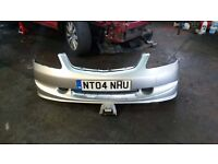 2004 HONDA CIVIC EP2/3 TYPE-R SPORT FRONT BUMPER WITH SKIRT