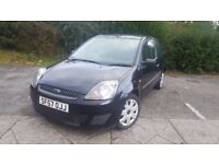 2008 1.3l Ford Fiesta Style, Black, NEW CLUTCH, LOW MILEAGE, RECENT SERVICE TO 69K, Not Corsa Zetec