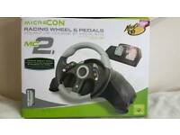 Xbox 360 Racing wheel +pedals