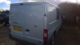 ford transit 85 t260s swb 2007, registration, 2.2 lt turbo diesel , 109,000 miles,