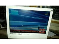 Logik 19 inch screen hd lcd free view and dvd TV £ 25