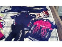 cycling clothing and shoes