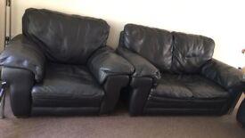 Nice and Comfortable Leather Sofa Set